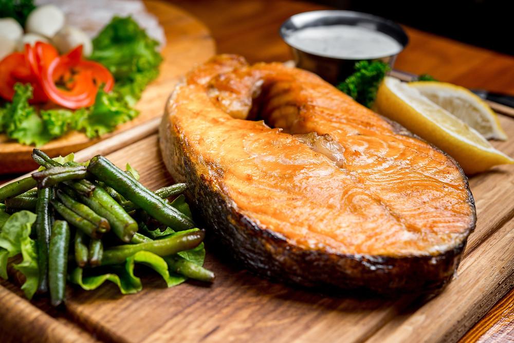 Rosetta's Farm Sesame Salmon Steak Recipe