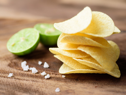 Limey Ghost Potato Chips