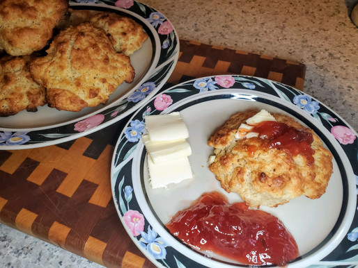 Savory Spiced Buttermilk Biscuits - updated