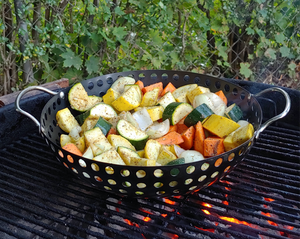 Grilled Vegetable Recipe with Mild Chili Pepper Spice Blend Rosetta's Farm