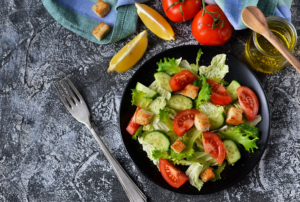 Rosetta's Farm | Cucumber + Tomato Salad Recipe