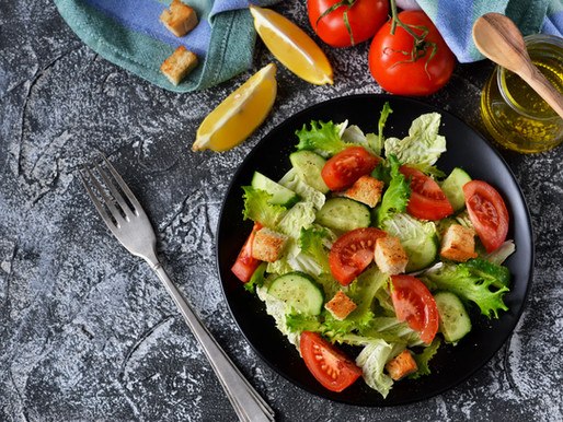 Cherry Pepper Cucumber & Tomato Salad