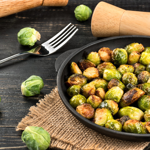 Balsamic Cinnamon-Nutmeg Glaze | Roasted Brussel Sprouts