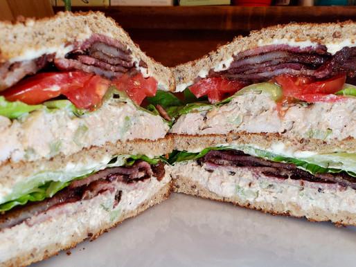RFS Turkey Bacon Club Sandwich