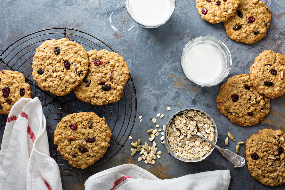 Rosetta's Farm | Ghost Pepper Oatmeal Raisin Cookies Gluten Free