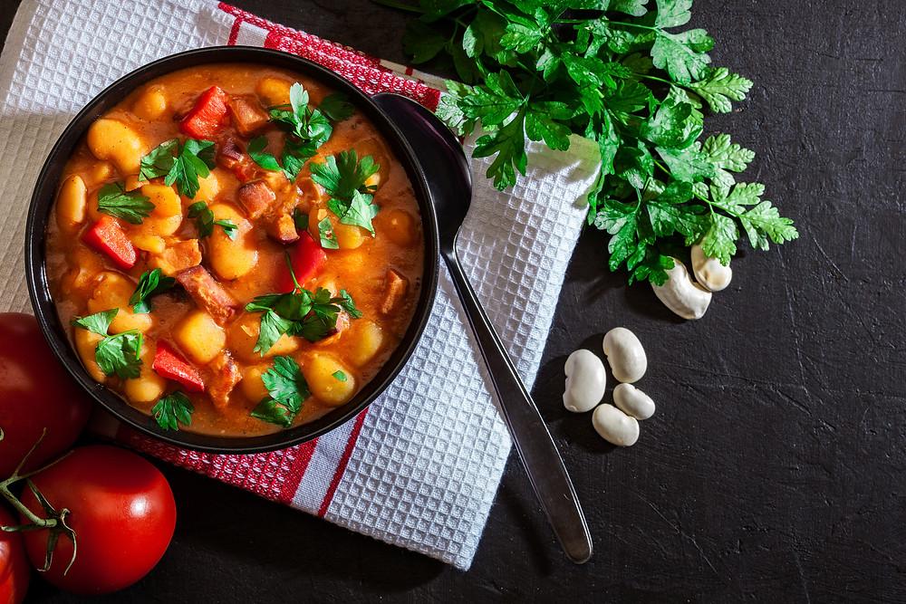 Rosetta's Farm | Tomato and White Bean Soup Recipe