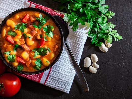 Smooth & Mellow Tomato & White Bean Soup