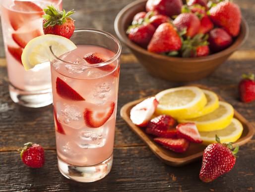 Strawberry Vodka Lemonade Cocktail