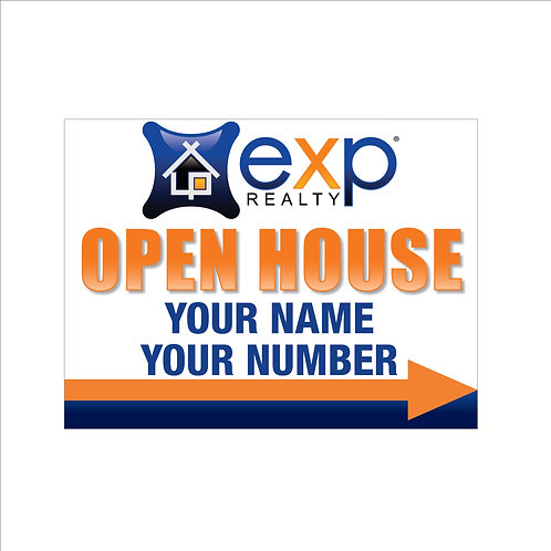 "18""x24"" Corex Open House Signs"
