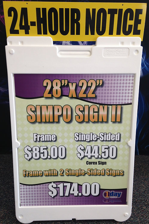 Simpo Sign II A Frame