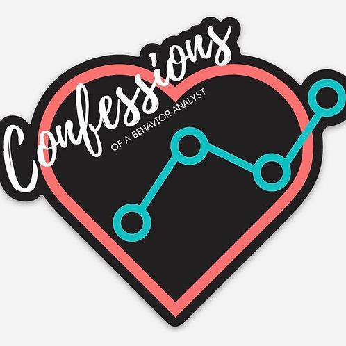 Confessions Logo Sticker