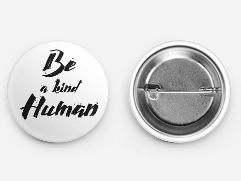 Be a kind Human Button