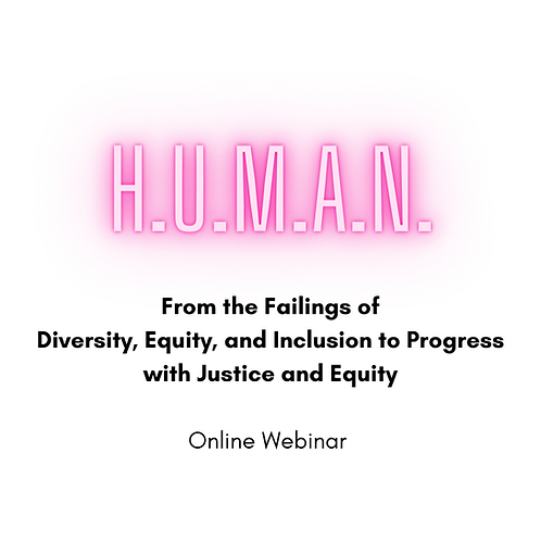 Failings of Diversity, Equity, and Inclusion Online Webinar