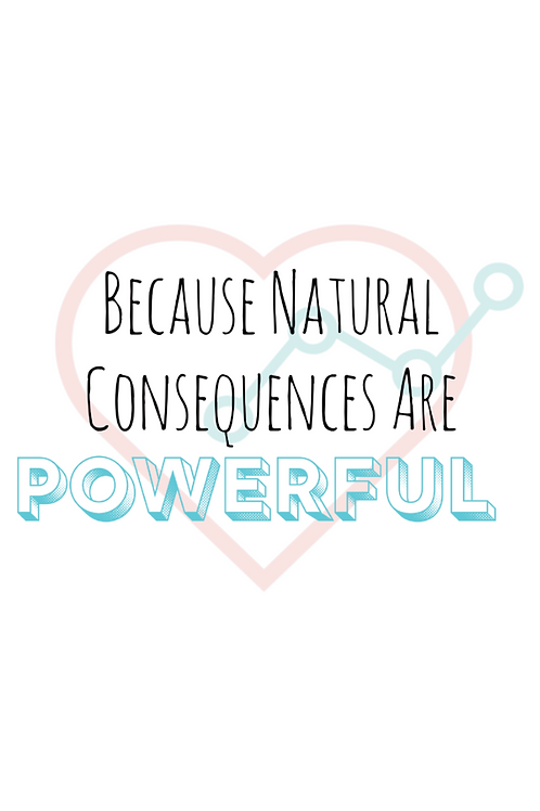 Natural Consequences Poster