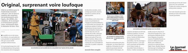 JOURNAL DE GIEN