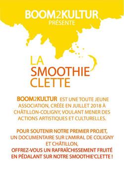 PRESENTATION SMOOTHIE'CLETTE