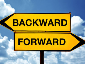 "Today's Idiom is : ""To go back and forth"""