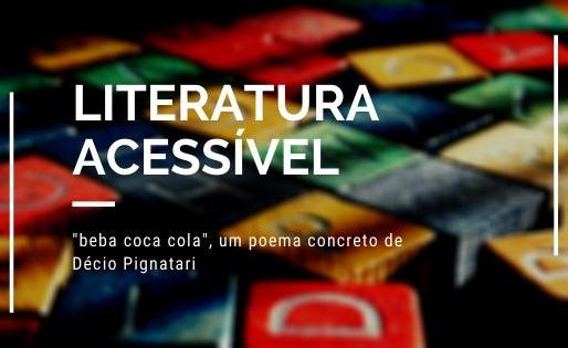 """""""beba coca cola"""", poesia concreta de Décio Pignatari"""