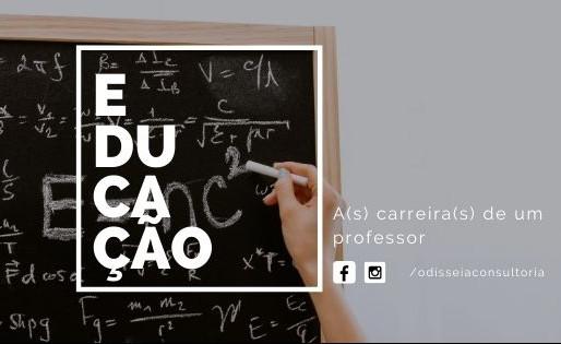 A(s) carreira(s) de um professor