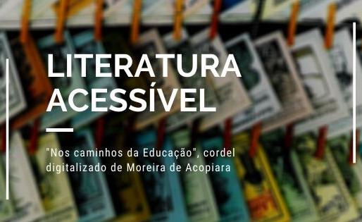 Nos Caminhos da Educação, cordel digitalizado de Moreira de Acopiara