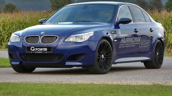 Самый быстрый автомобиль на автогазе - BMW M5 Hurricane GS