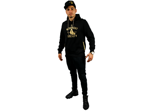 MKS Gold/Black Track Suit + Hat