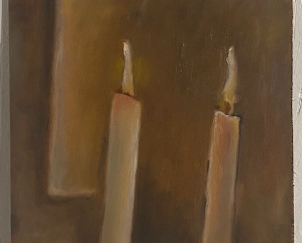 May 8, Richter and his Candles