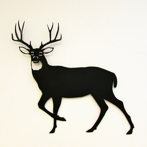 Antlers Up (Mule Deer) Wall Hanging