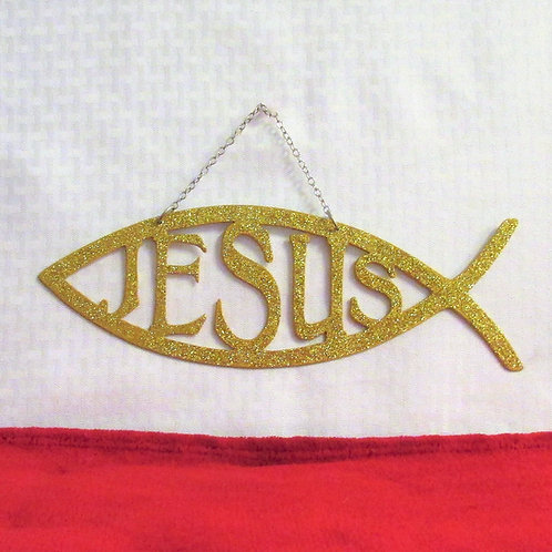 Christian Fish Symbol - Jesus