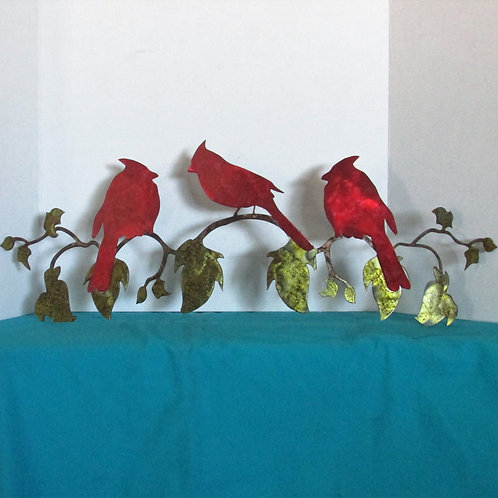 Cardinals on a Vine