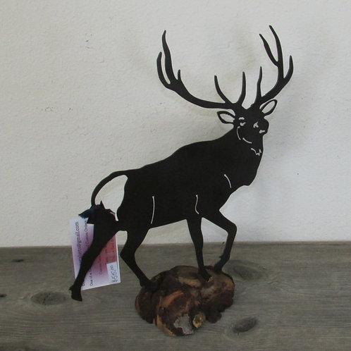 Elk on Wood
