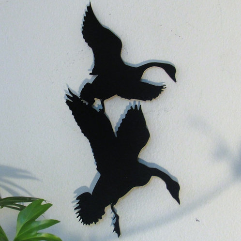 Coming In - Geese Wall Hanging