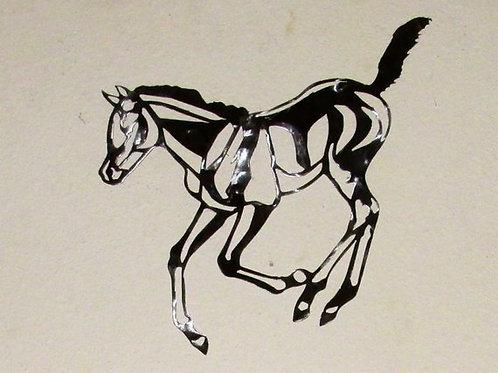Enjoying Life - Horse Running/Foal