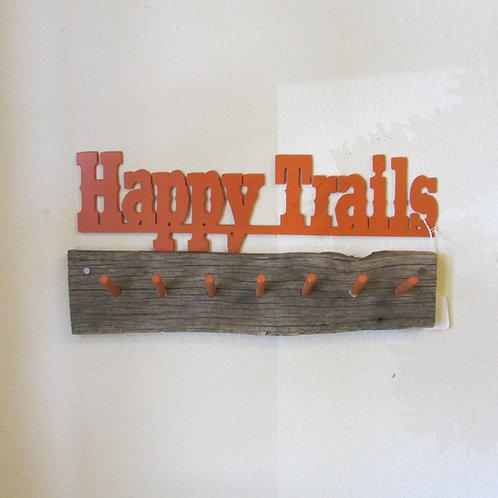 Happy Trails Key Holder