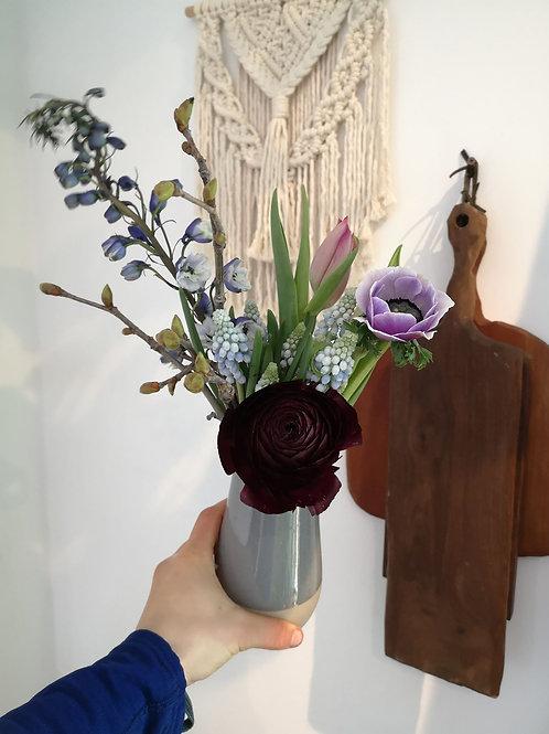 Ranunculus Bud Vase