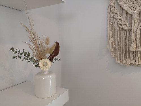 Janson Pottery Dried Flower Bud Vase