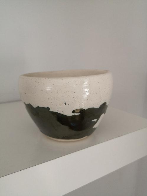 Metallic Forest Green Handmade - Earth & Ember Pot