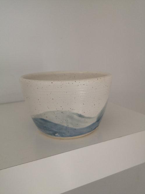 Speckle Wave Pot-Handmade
