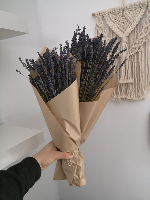 Dried Lavender Bunches