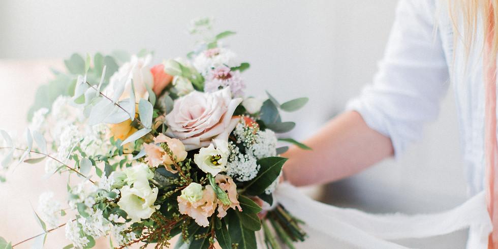 European Hantied Bouquet Workshop
