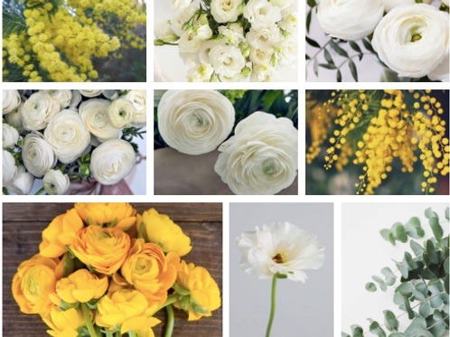 Order for March 4th/ 5th Large Yellow & White Bouquets