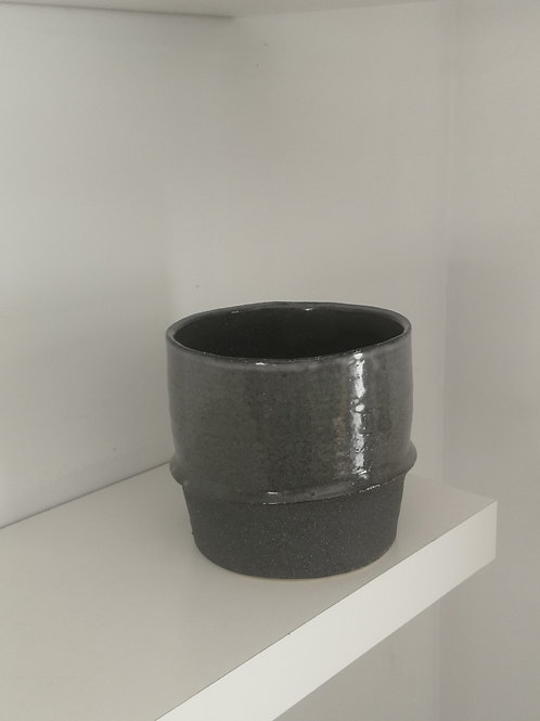 Grey  Pot