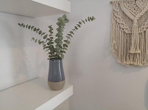 Dried Eucalyptus Bud Vase