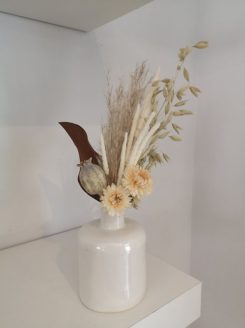 Janson Pottery Dried Flower Bud Vase