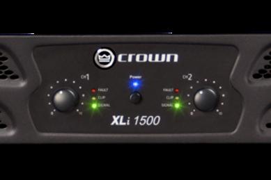 Crown XLi 1500 2 Channel Power Amplifier