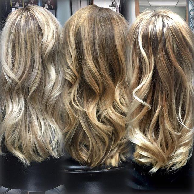 Blonde Balayage, Three Different Ways, Salem Oregon