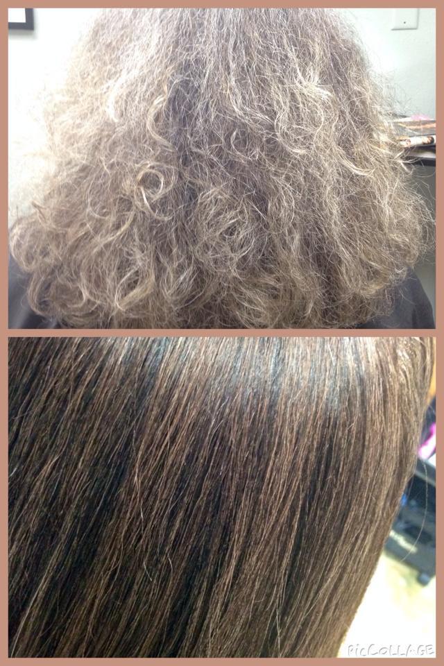 Chi Keratin Treatment Results #2