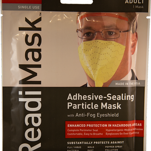 Adult ReadiMask +Eyeshield Single Use