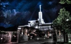Mount Timpanogos Night - Dreamscape