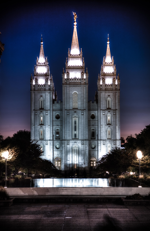 Salt Lake City Night